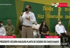 Junín: Vizcarra inauguró planta de oxígeno en hospital de Chanchamayo   VIDEO