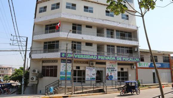 Sunedu deniega licencia institucional a la Universidad Privada de Pucallpa