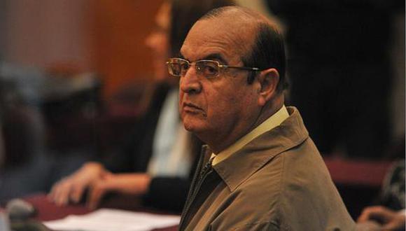Vladimiro Montesinos fue el trasladado establecimiento temporal del penal de Ancón II el pasado 24 de agosto tras dejar la Base Naval del Callao. (Foto: archivo GEC)