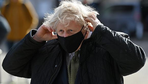 El primer ministro del Reino Unido, Boris Johnson. REUTERS