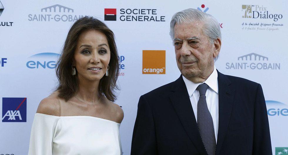 Isabel Preysler y Mario Vargas Llosa. (Foto: Agencias)