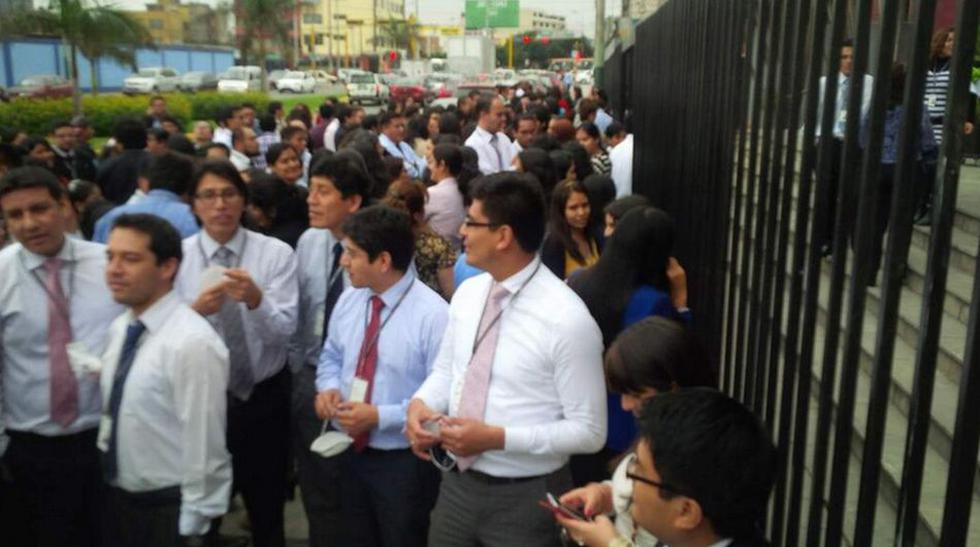 Así participaron los peruanos del simulacro de sismo y tsunami - 1