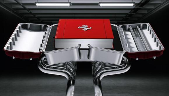 El libro de Taschen cuenta con detalles inéditos y documentos nunca antes mostrados al público sobre la historia de Ferrari. (Foto: YouTube).