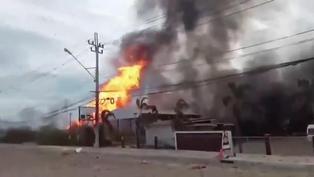 Al menos dos muertos y 30 heridos en explosión de tubería de gas en Tailandia