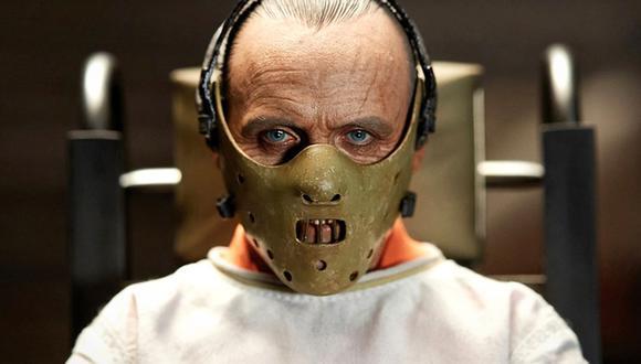 Anthony Hopkins como Hannibal Lecter, uno de sus roles más importantes.