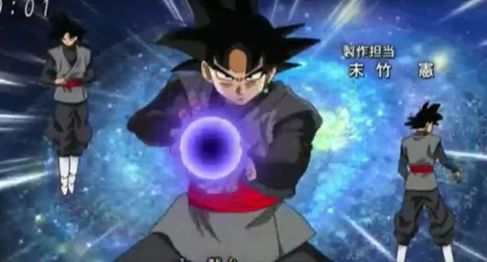 """""""Dragon Ball Super"""": aparecen nuevas imágenes de Black Gokú - 1"""