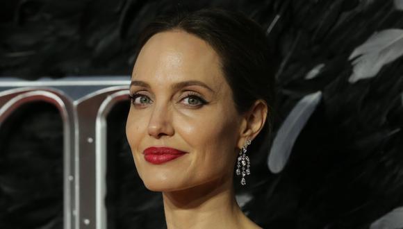 La actriz Angelina Jolie hablo sobre los problemas que ha tenido con sus hijos por confinamiento. (AFP).