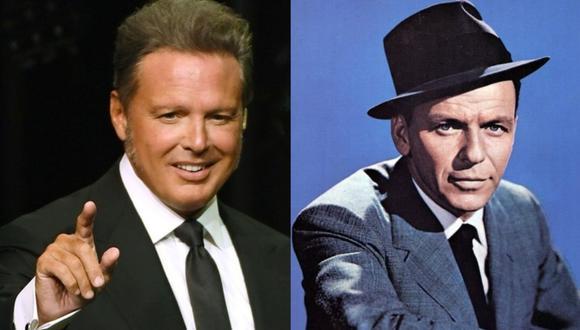 Luis Miguel tuvo la oportunidad de colaborar con Frank Sinatra, uno de los mejores artistas del mundo