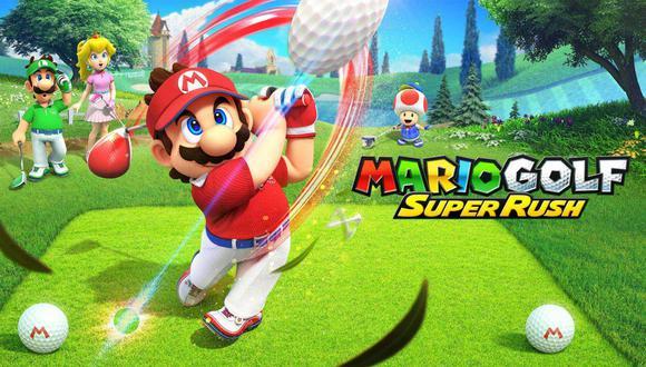 Mario Golf: Super Rush es el nuevo videojuego exclusivo de Nintendo Switch. (Imagen: Nintendo)