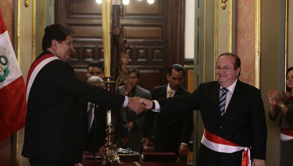 Luis Nava aseguró a la fiscalía que hubo entregas de dinero de parte de Jorge Barata, exrepresentante de Odebrecht en el Perú, al fallecido expresidente Alan García. (Foto: GEC)