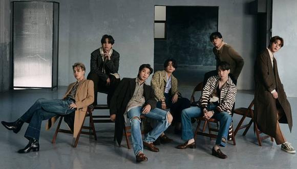 """BTS conquista con su interpretación de """"Dynamite"""" en el especial de """"Persona del año 2020″ de TIME. (Foto: Big Hit Entertainment Ec)."""