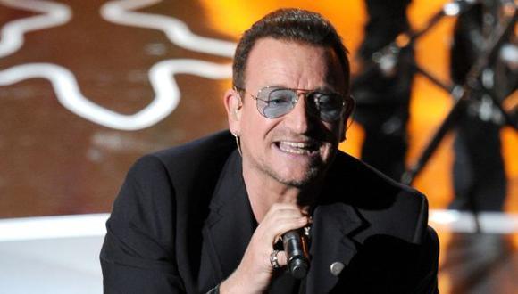 Bono, líder U2
