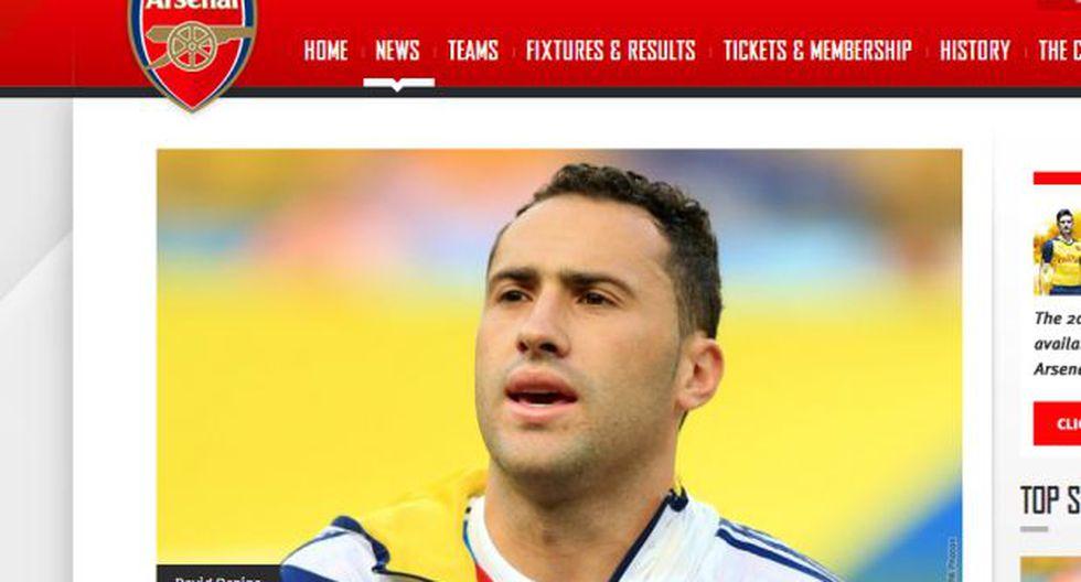 Arsenal confirmó a David Ospina como nuevo refuerzo