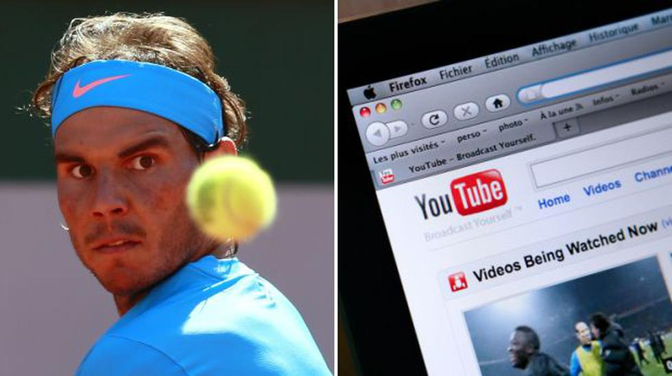 YouTube, el secreto de Rafael Nadal para espiar a sus rivales - 1