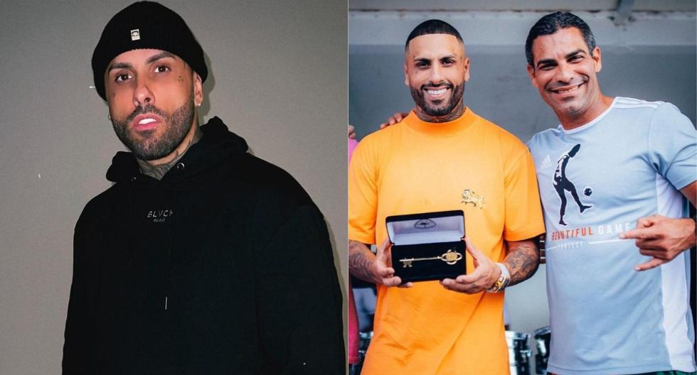 Nicky Jam surprised everyone by announcing that he received the Miami key: