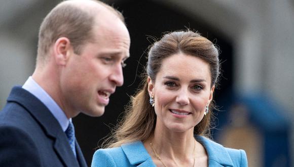El príncipe Guillermo y Catalina de Cambridge. (Foto: AFP)
