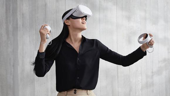 Oculus Quest 2 son los nuevos anteojos de realidad virtual de Facebook; es el tercer modelo de la compañía que no requiere una conexión a una PC para funcionar. (Difusión)