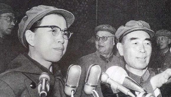 La cuarta y última esposa de Mao, Jiang Qing, jugó un papel clave en la Revolución Cultural de 1966-76, que dejó profundas heridas en China. (Getty Images).