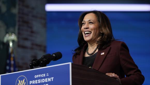 La vicepresidente electa Kamala Harris. AP