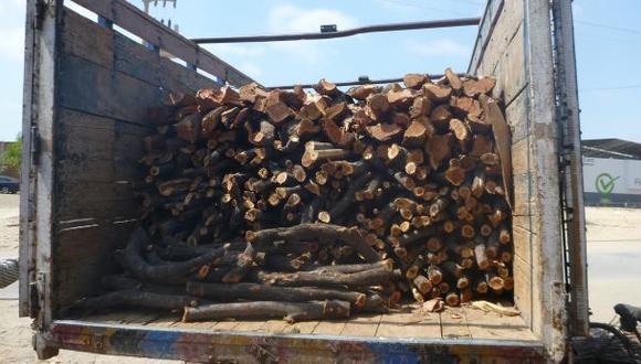 Fiscalía incauta madera ilegal valorizada en S/.26 millones