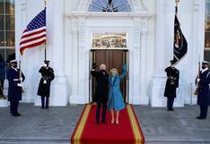 EN VIVO | El presidente de Estados Unidos Joe Biden entra caminando a la Casa Blanca