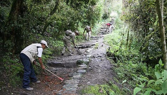 Cusco: suspenden cuatro campamentos en Camino Inca por lluvias