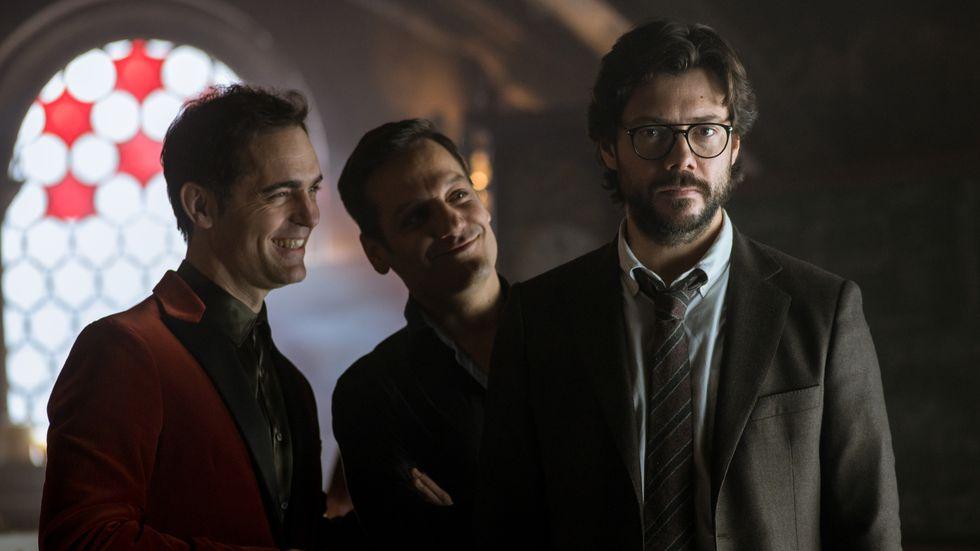 """Imágenes exclusivas de la nueva temporada de """"La casa de papel"""". (Foto: Netflix)"""