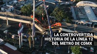 Tragedia en México: Conozca la controvertida historia de la línea 12 del metro de CDMX