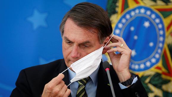 Bolsonaro había acusado a los medios de generar zozobra con el tema del coronavirus. Foto: Reuters