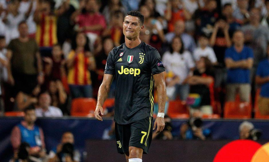 En el inicio de la Champions League con la Juventus, Cristiano Ronaldo fue expulsado en el partido ante Valencia. (Foto: EFE)