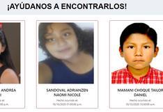 #AyúdanosAEncontrarlos: estas son las Alertas de Emergencia de hoy por niños y adolescentes desaparecidos