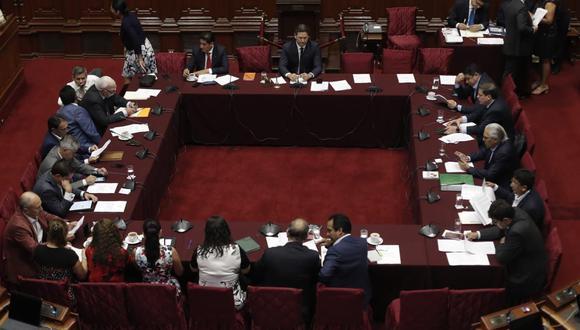 La Comisión Permanente del Congreso aprobó la ampliación de la denuncia, incluyendo al titular de la PCM, César Villanueva y al ministro de Justicia, Vicente Zeballos. (Foto: Renzo Salazar / GEC)
