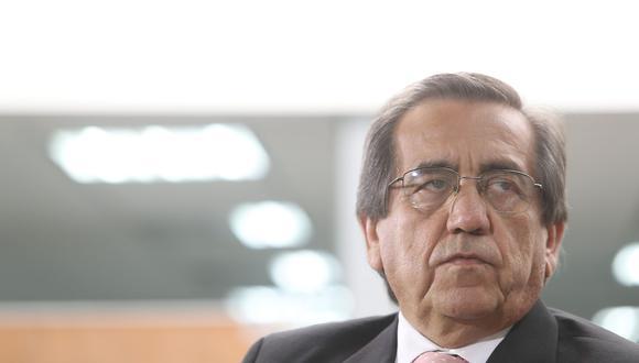 Jorge del Castillo negó que el Apra sea socio del fujimorismo. (Foto: Archivo El Comercio)