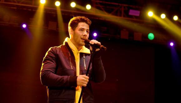 """Nick Jonas canta la canción nominada al Oscar """"Shallow"""" de la película """"A Star is Born""""(Foto: AFP)"""
