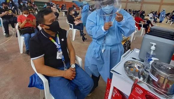 Minera Yanacocha informó que a partir de hoy 5 julio abrirá las puertas de sus instalaciones para facilitar, en un primer momento, la vacunación de las personas mayores de 55 años de los sectores Villa Huacariz, La Paccha y zonas aledañas. (Foto: Yanacocha)