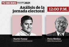 Eleciones 2021: Percy Medina analizó en El Comercio el desarrollo de la jornada electoral