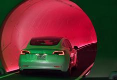 Compañía de Elon Musk mostró los túneles para conducir bajo tierra