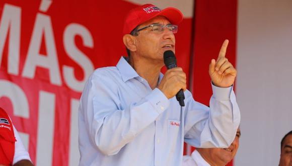 El presidente Martín Vizcarra dijo que el Ejecutivo respeta la independencia del Congreso si decide interpelar a la ministra Flor Pablo. (Foto: DIfusión)