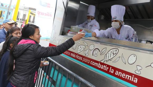 Mediante esta alianza con la empresa privada, se espera reducir los niveles de anemia y reforzar el consumo de alimentos con alto contenido de hierro. (Ministerio de Salud)