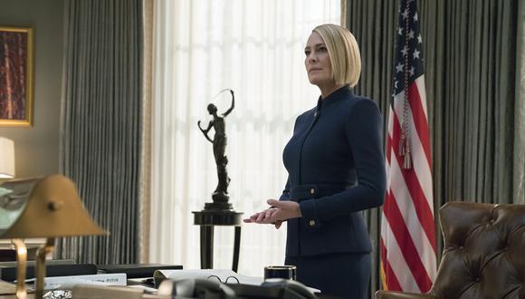 """Claire Underwood (Robin Wright) en escena de la temporada final de """"House of Cards"""". (Foto: Netflix)"""