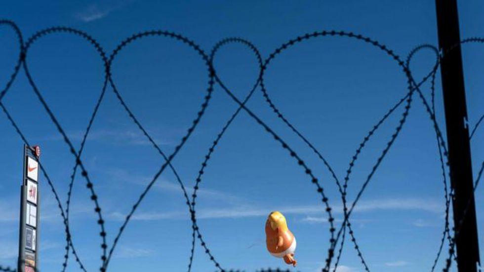 Trump ha amenazado con cerrar la frontera con México.