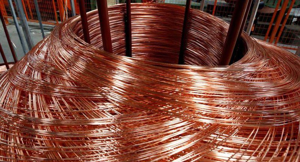 Los precios del cobre subían levemente el lunes. (Foto: Reuters)