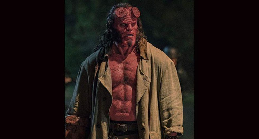 """""""Hellboy"""" se estrenó en nuestro país el jueves 9 de mayo. protagonizada por David Harbour, Ian McShane y Milla Jovovich, la cinta es un reinicio de la saga sobre el personaje de los cómics."""