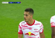 PSG vs. RB Leipzig: André Silva anotó el empate 1-1 de los alemanes | VIDEO