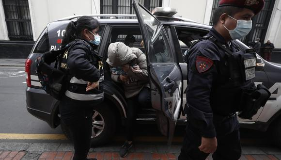 Los presuntos integrantes de la organización criminal conocida como 'Los Ángeles Negros' fueron detenidos por la Policía el último miércoles 21 de julio | Foto: @photogec