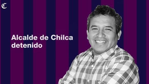 Chilca: alcalde detenido en megaoperación por crimen organizado