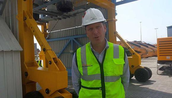 APM Terminals presentó nuevo equipos de carga para el Callao
