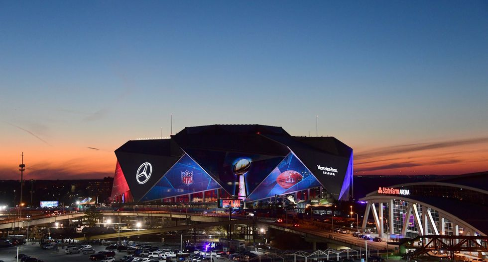 Patriots vs. Rams se enfrentan este domingo en el Super Bowl 2019 en el Mercedes-Benz Stadium. (Foto: Reuters).