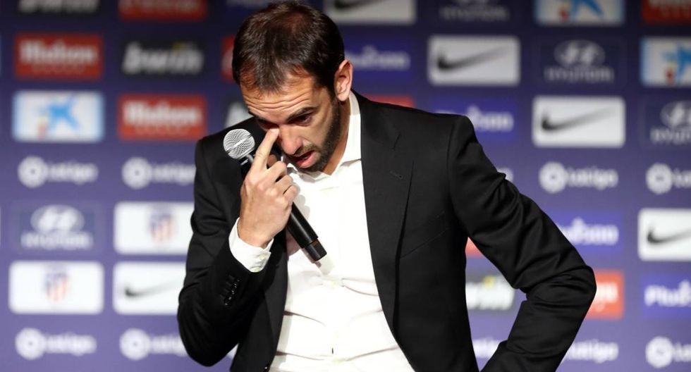Diego Godín partirá al final de temporada después de nueve años en el Atlético de Madrid. (Foto: Reuters)