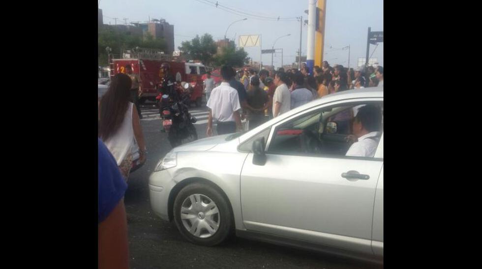 Rímac: cuatro heridos tras choque de auto con mototaxi [FOTOS] - 4
